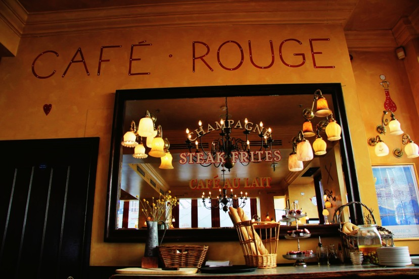 Café Rouge Review.